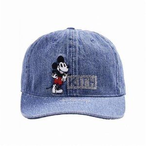 Kith x Disney Sporty Cap Denim